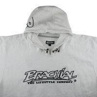 "Brachial Hoody ""Gain"" white 2XL"
