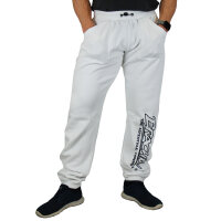 Brachial Tracksuit Trousers Gain white