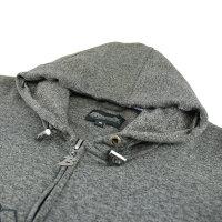 "Brachial Zip-Hoody ""Gain"" graphit melounge XL"