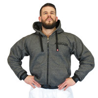 "Brachial Zip-Hoody ""Spacy"" graphit..."