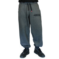 """Brachial Tracksuit Trousers """"Spacy"""" graphit melounge/black S"""
