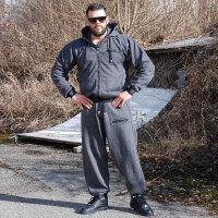 """Brachial Sporthose """"Spacy"""" graphit melounge/schwarz XL"""