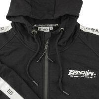 "Brachial Zip-Hoody ""Classy"" black/white XL"