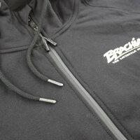 "Brachial Zip-Hoody ""Tapered"" schwarz L"