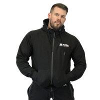 "Brachial Zip-Hoody ""Tapered"" schwarz XL"
