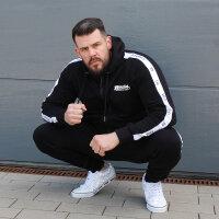 """Brachial Jogginhose """"Classy"""" schwarz/weiß 2XL"""